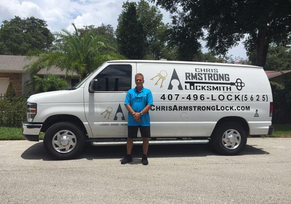 locksmith, lock, 24/7 service, central florida, mobile locksmith, Orlando, commercial locksmith, Chris Armstrong