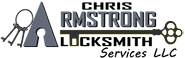 Chris Armstrong Lock Logo